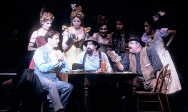 Michele Pawk, Howard McGillin, Nicole Sterling, & the Cast of Bounce
