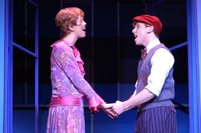 Nicole Sterling (Millie) & Leo Ash Evens (Jimmy) in Thoroughly Modern Millie