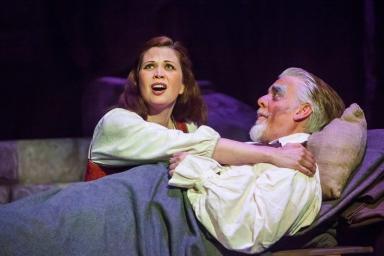 Nicole Sterling (Aldonza) & Chris Vettel (Don Quixote)