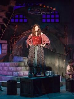 Nicole Sterling (Aldonza) in Man of La Mancha (Sacramento Theatre Company)