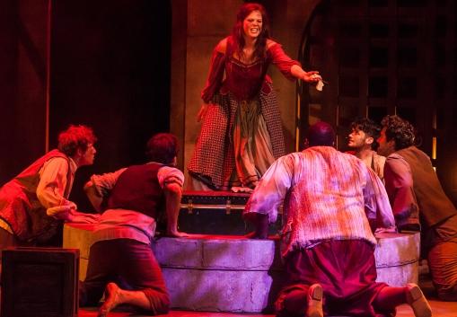 Nicole Sterling (Aldonza) & the Cast of Man of La Mancha